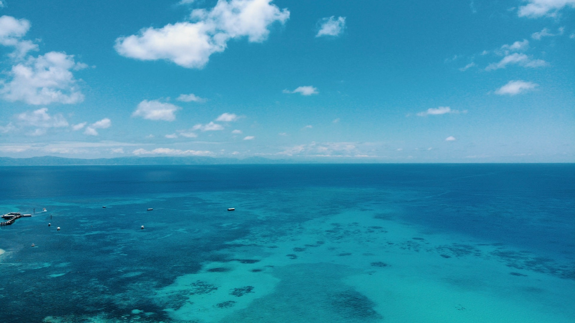The Great Barrier Reef in Australia, perfect for virtual tours.