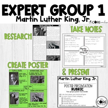 Example of a class project including assignments for