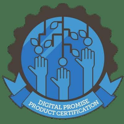 Digital Promise product certification logo