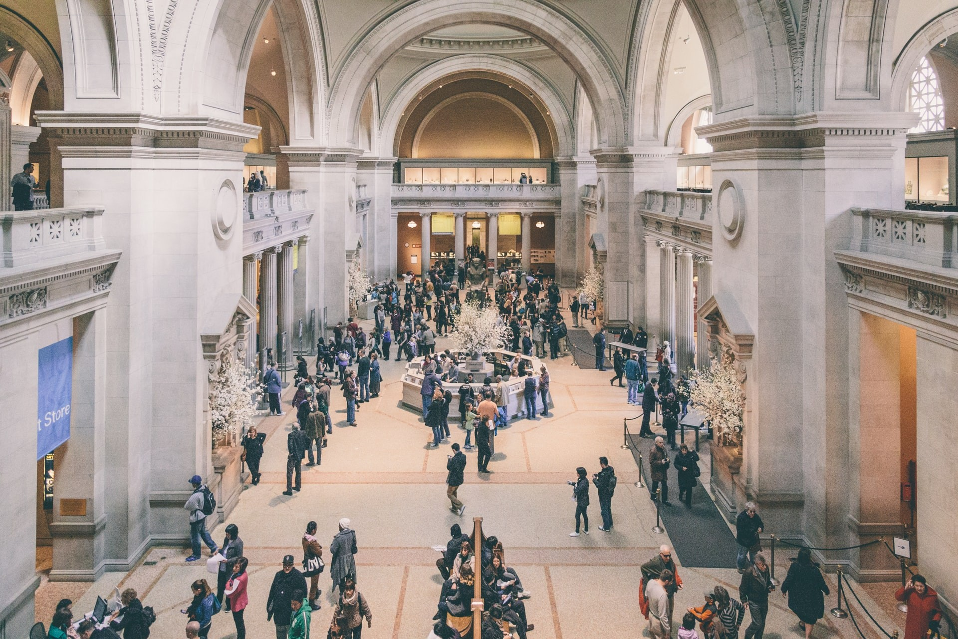 The Great Hall in the Metropolitan Museum of Art in New York City
