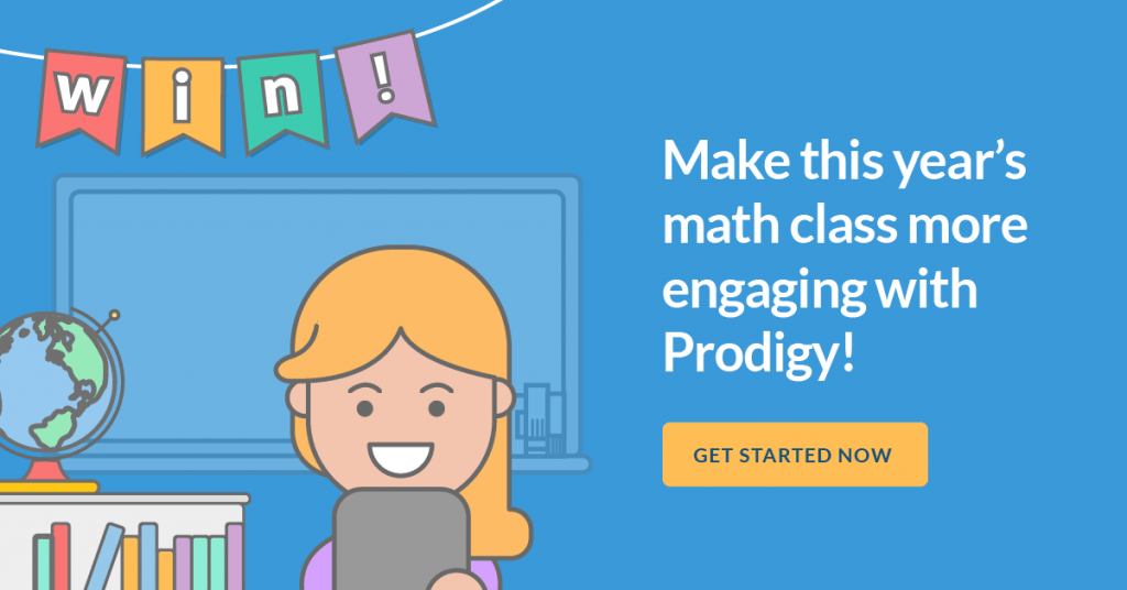 make this year's math class more engaging with Prodigy!
