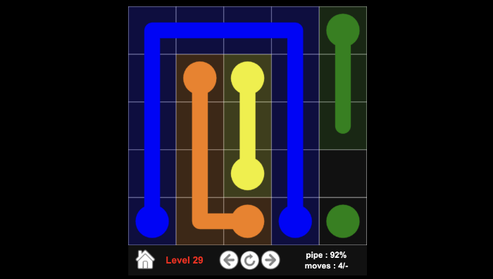 Flow colors browser game