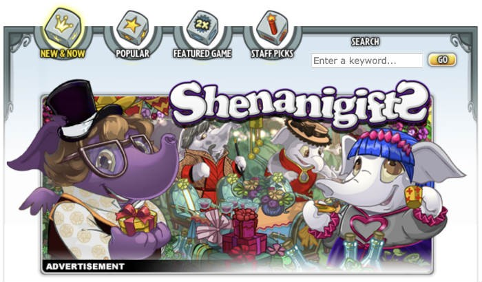 Neopets browser game