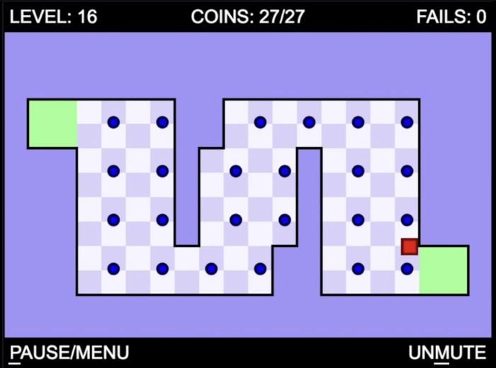 World's hardest game browser game