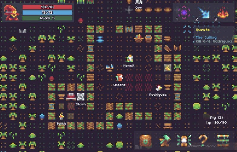 Isleward browser game