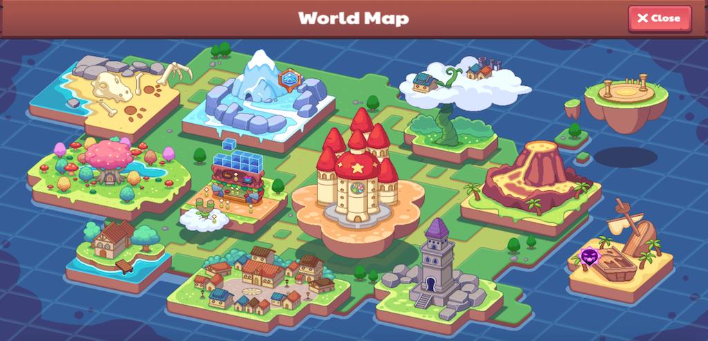 The Prodigy world map