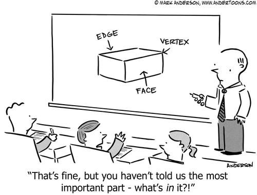 Geometry jokes