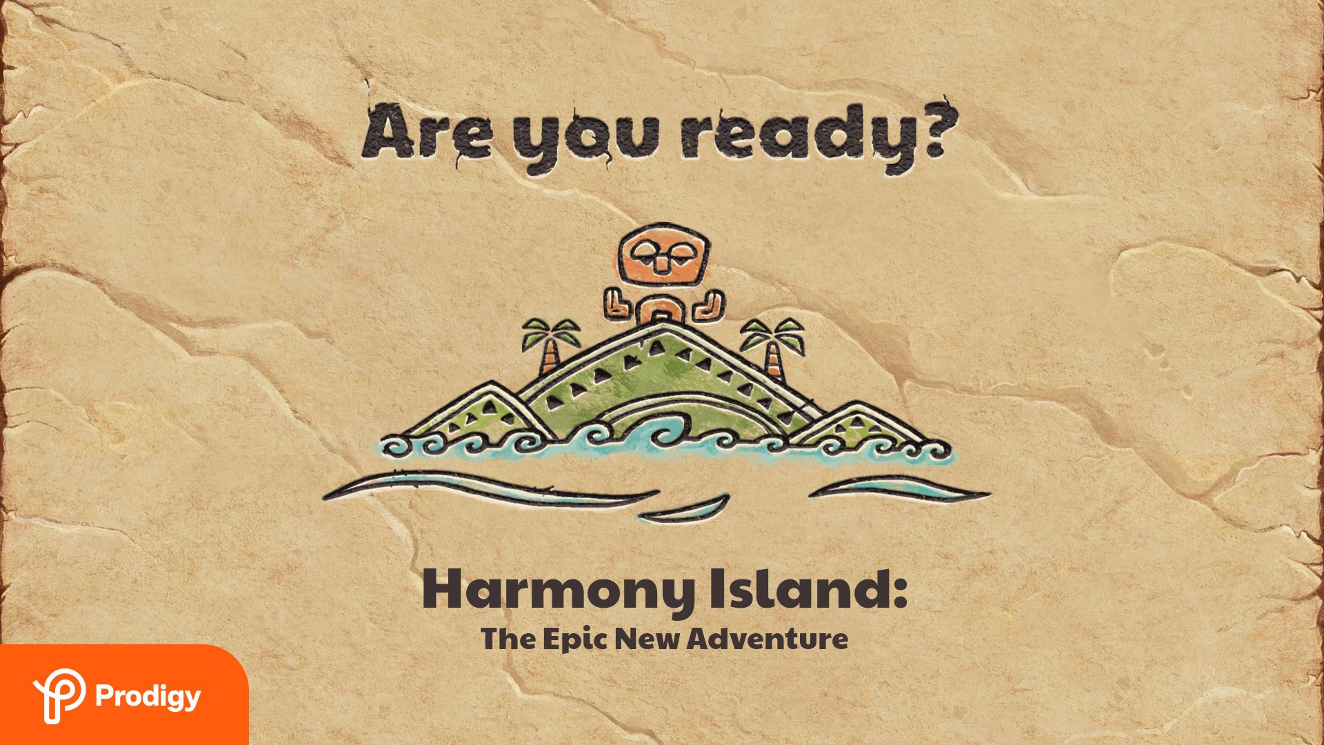 Harmony Island Zoom background: the island