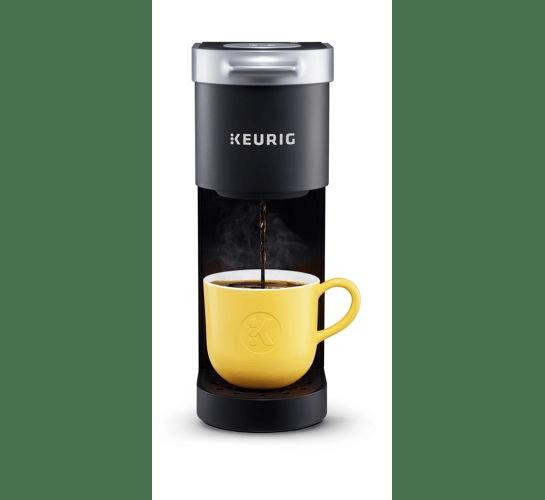Black Keurig coffee machine