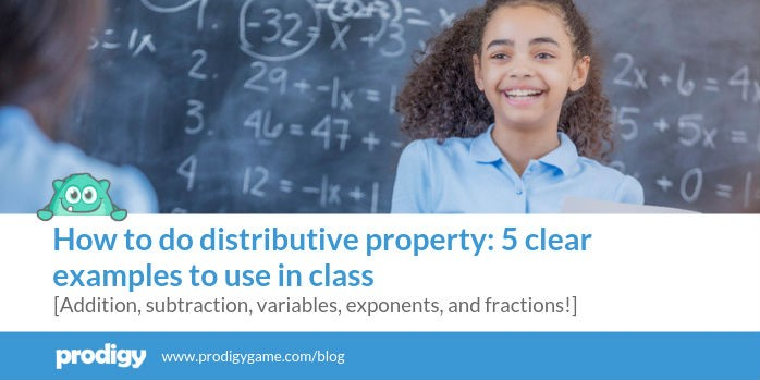 How to do distributive property: 5 clear examples