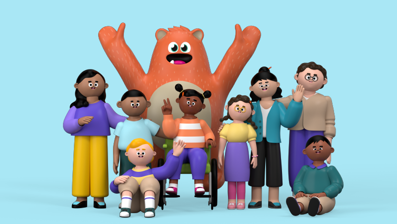 Prodigy Education brand characters