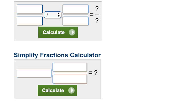 dividing fractions calculator