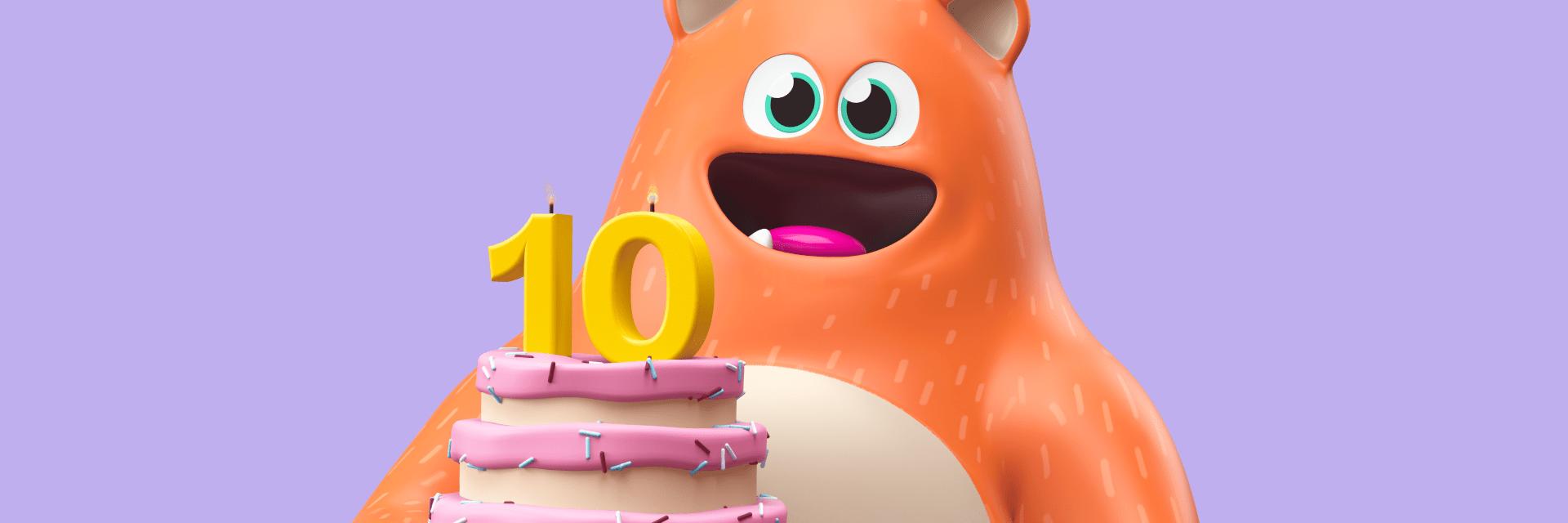 Prodigy Education's 10th birthday