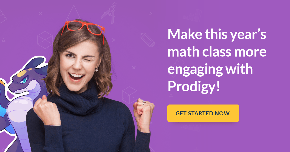 make this year's math class more engaging with Prodigy