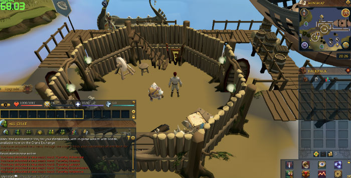 Runescape browser game
