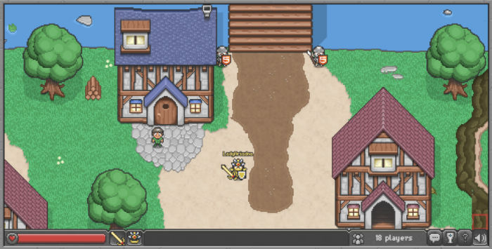 Browser Quest browser game