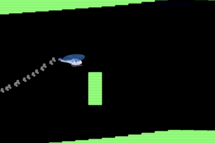 Helicopter browser game
