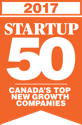 2017 Startup Canada's Top 50 New Growth Companies