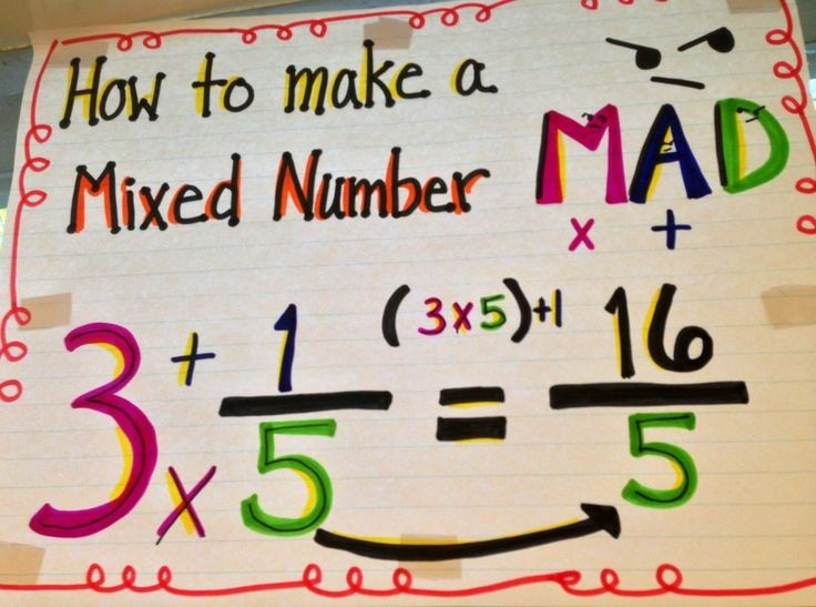 How to divide mixed fractions