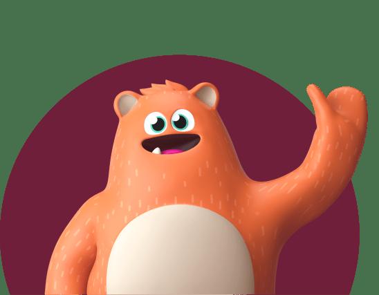 Prodigy Education mascot, Ed, smiling and waving.