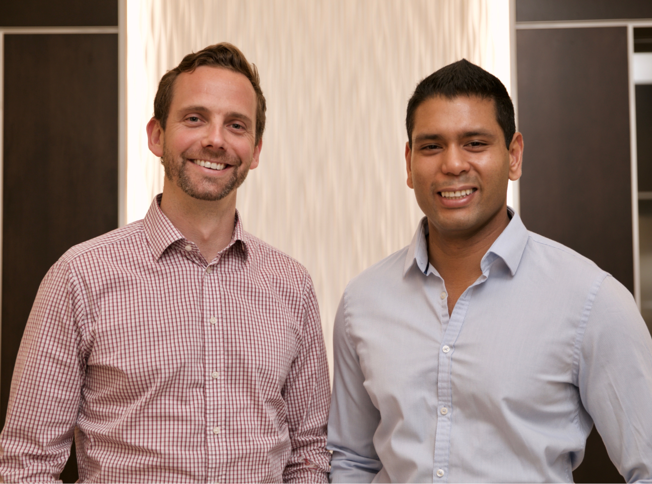 Prodigy Education Co-CEOs and Co-Founders, Alex Peters on the left and Rohan Mahimker on the right.