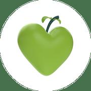 A green apple