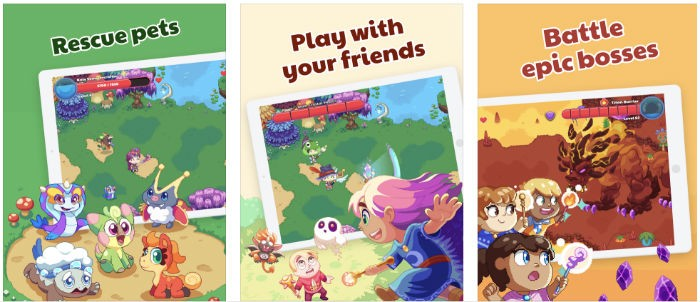 Play Prodigy Math Game where you can rescue pets play with your friends and battle epic bosses.