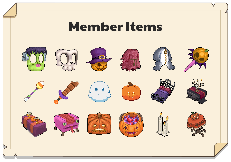 Gallery of Member Pumpkinfest items