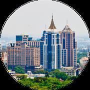 Scenery photo of office buildings in Bengaluru