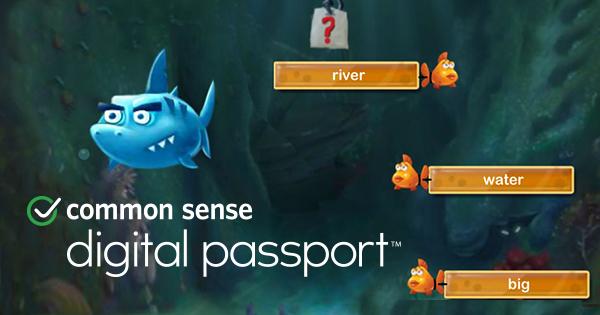 Screenshot of Common Sense's Digital Passport program.