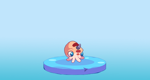 Image of Squibble, one of Prodigy Math Game's pets.