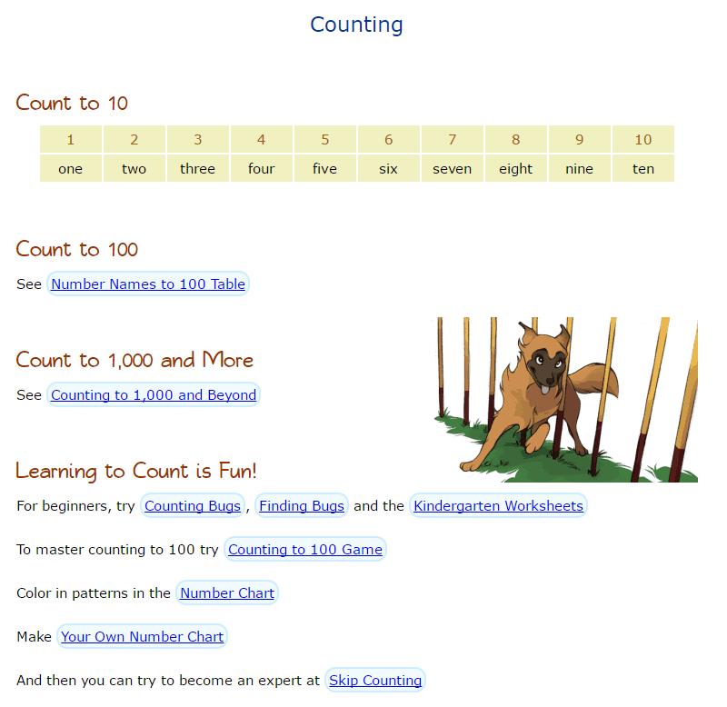 The math website for kids called Math Is Fun