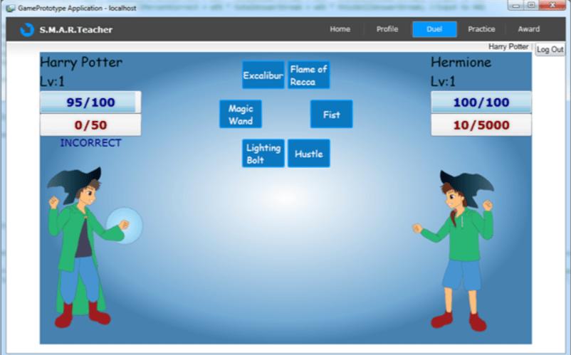 Screenshot of Prodigy Math Game in 2011