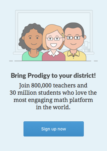 Bring prodigy to your district