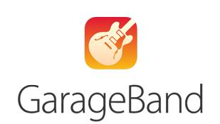 GarageBand music production app logo