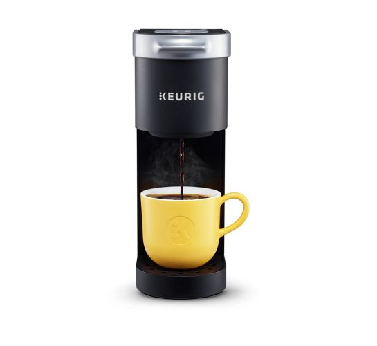 Black Keurig coffee machine