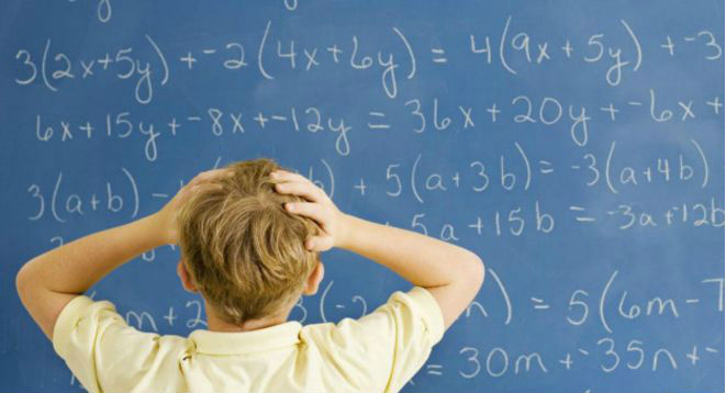 my child is struggling with math