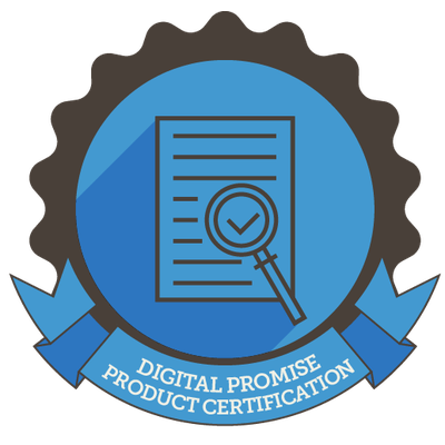 Prodigy has a product certification from Digital Promise