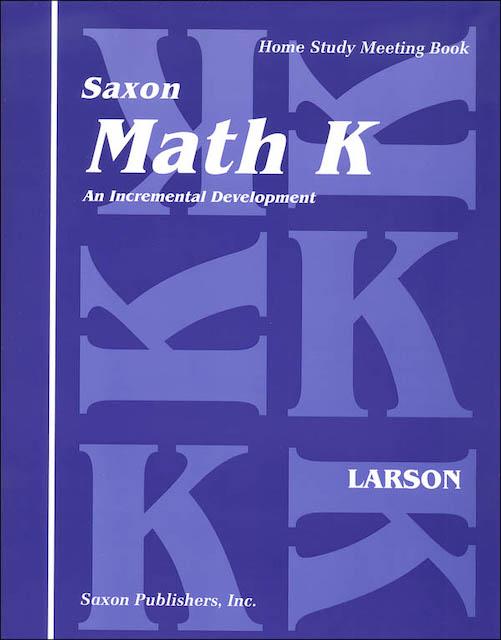 Saxon Math workbook