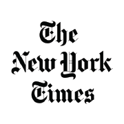 The New York Times logo.