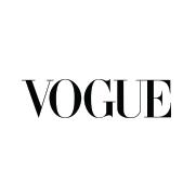 The VOGUE magazine logo.