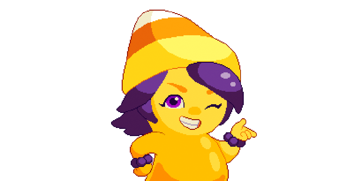 Kandi Korn, Pumpkinfest's in-game character