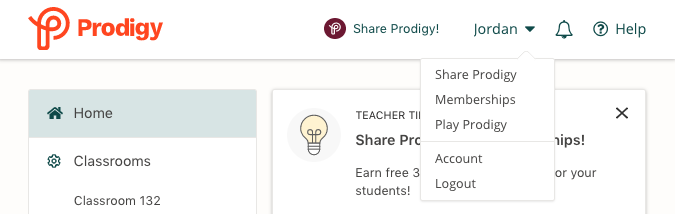 How to share Prodigy with other teachers and earn free memberships for your students.
